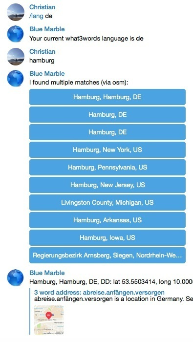 Creating a map and geocoding bot for Telegram (Part 1